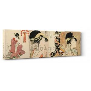 Utamaro Kitagawa - A Selection of Beautiful Women