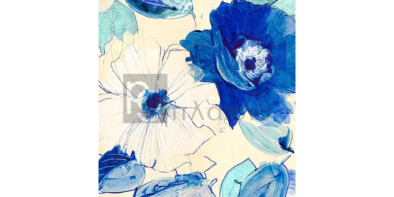 Kelly Parr - Toile Fleurs I