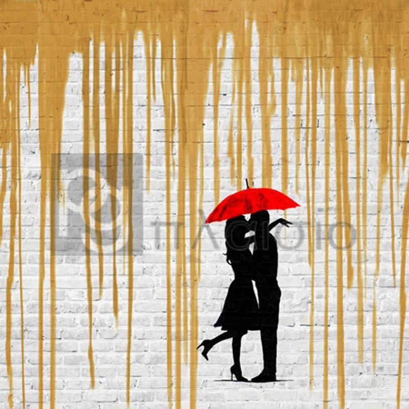 Masterfunk Collective - Romance in the Rain (Gold, detail)