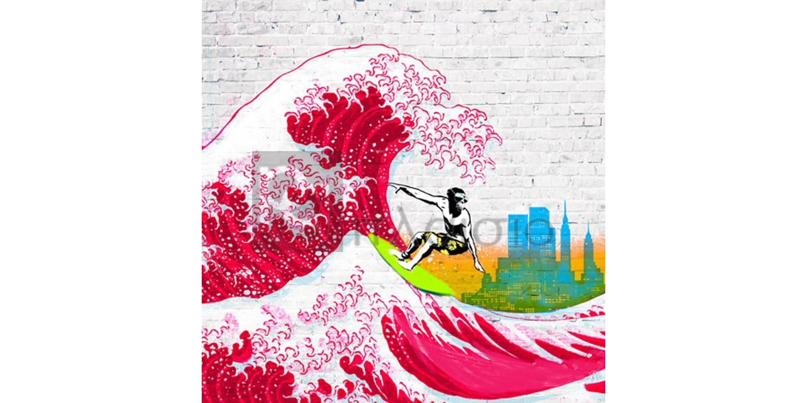 Masterfunk Collective - Surfin' NYC (detail)