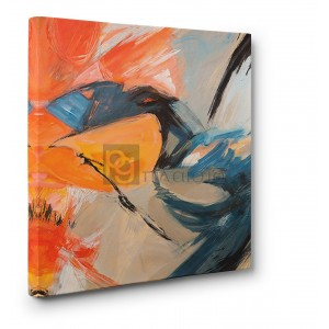 Jim Stone - Oranges & Blues (detail)