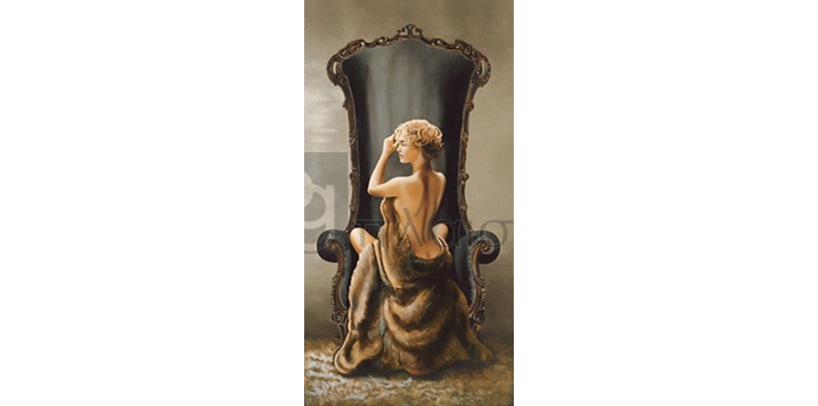 Ron Di Scenza - Seated Beauty