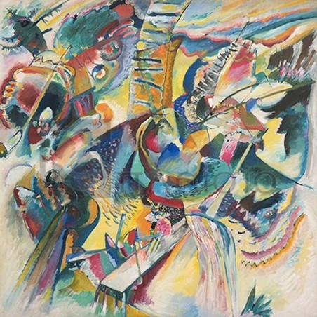 Wassily Kandinsky - Improvisation Klamm