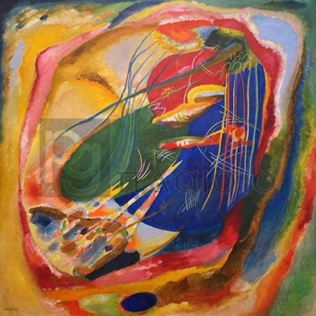 Wassily Kandinsky - Picture with Three Spot