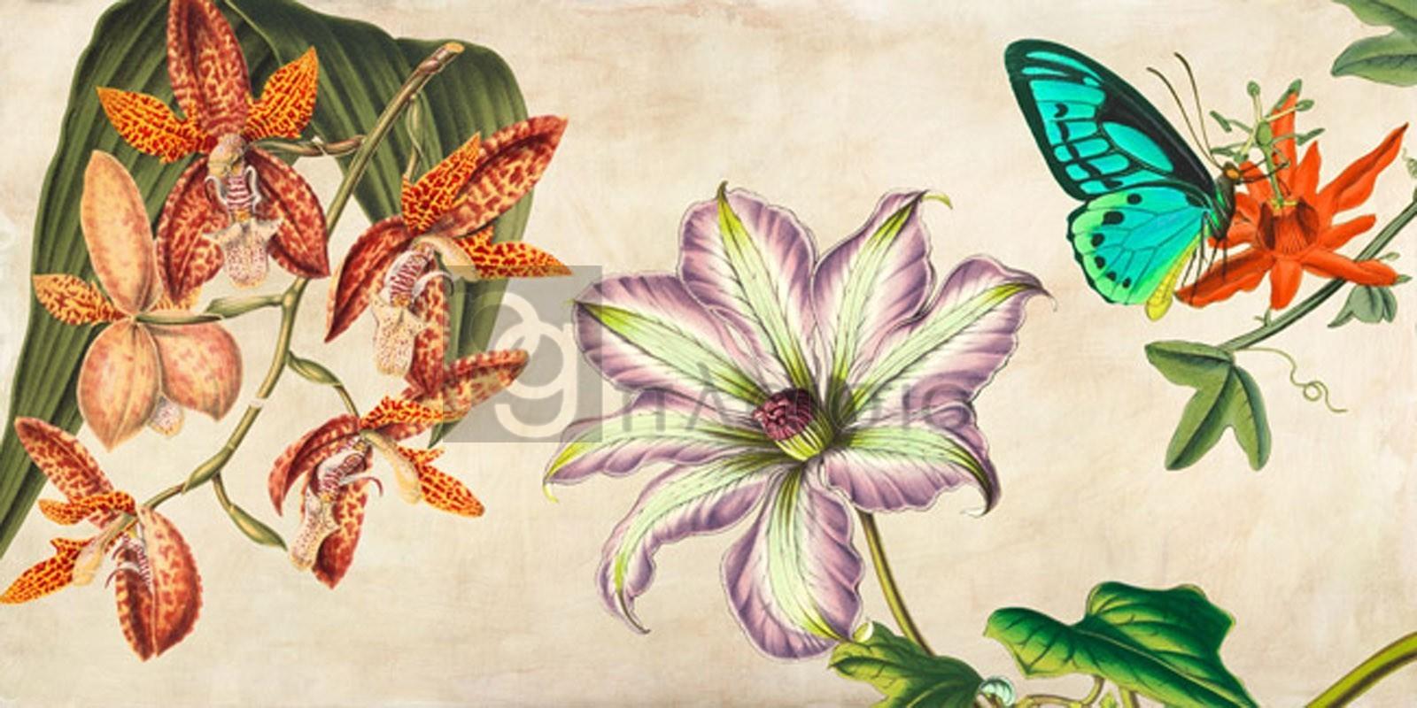 Remy Dellal - Panneau Botanique I
