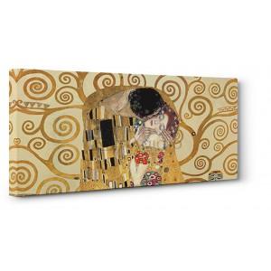 Gustav Klimt - The Kiss (detail)