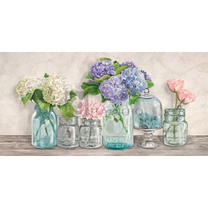 JENNY THOMLINSON - Flowers in Mason Jars