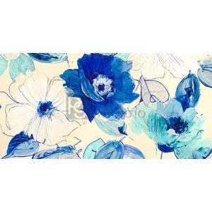 KELLY PARR - Toile Fleurs