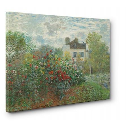 CLAUDE MONET - The Artist's Garden in Argenteuil
