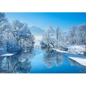 Winter landscape at...