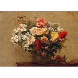 Vase with Summer Flowers