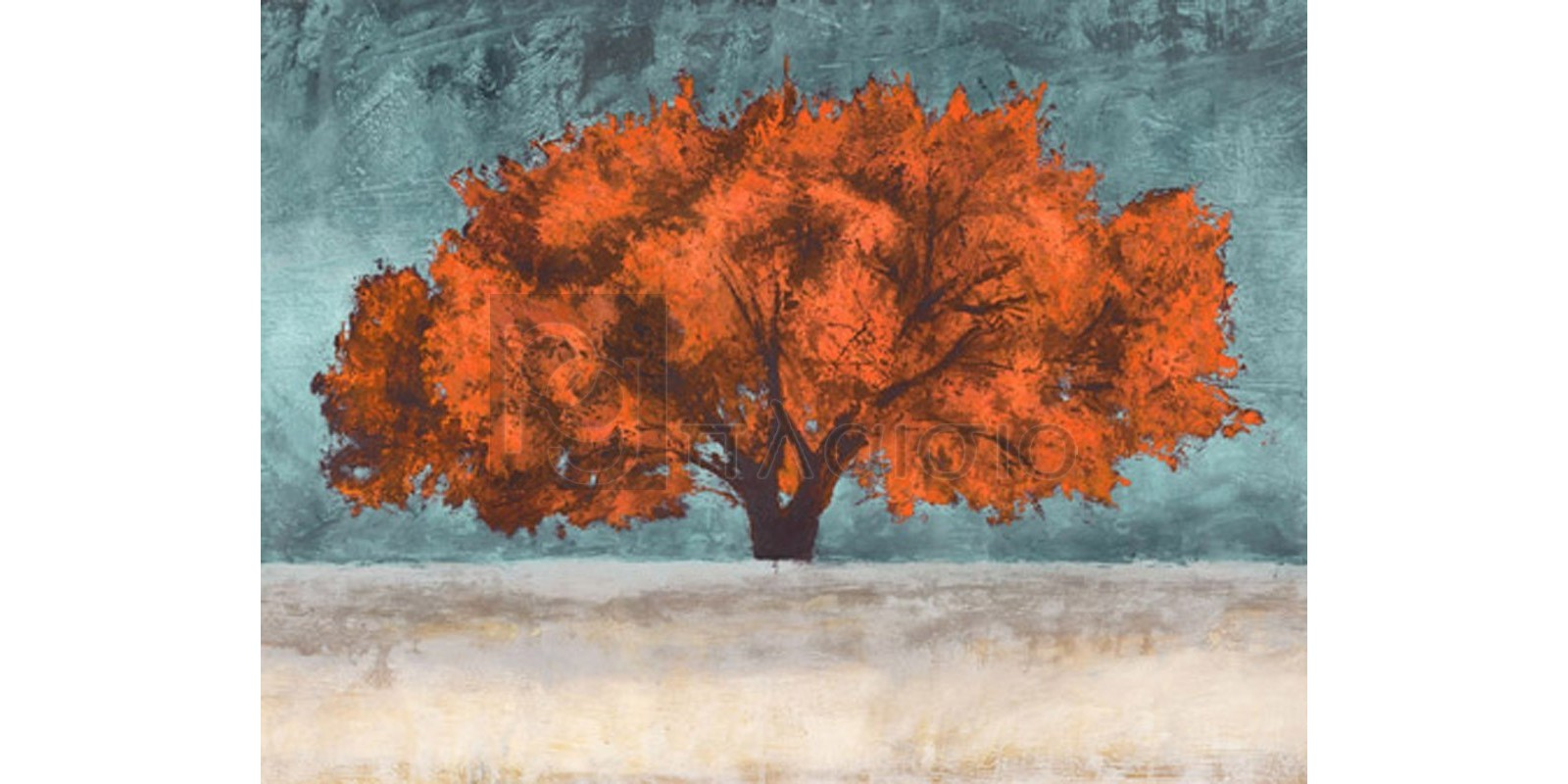 JAN EELDER - Orange Oak