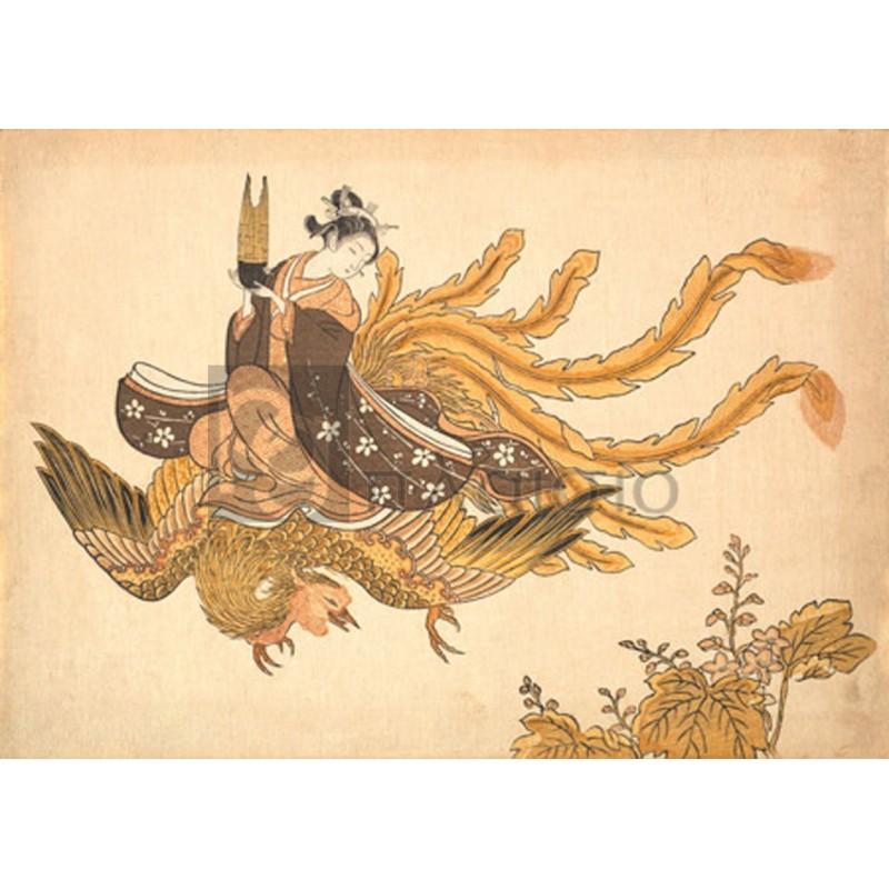 SUZUKI HARUNOBU - Disguised Immortal