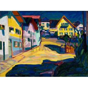 Wassily Kandinsky - Murnau Burggrabenstrasse