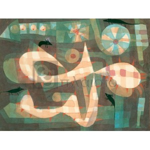 Paul Klee - The Barbed Noose with the Mice