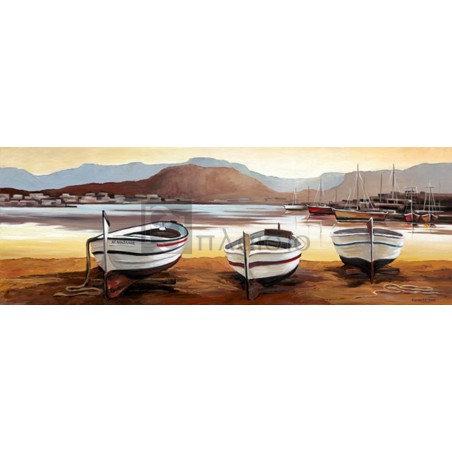 Κωνσταντίνος - Βάρκες στην ακτή