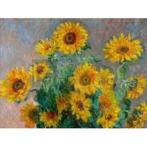 Claude Monet - Sunflowers (detail)