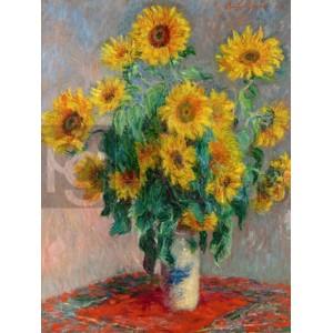 Claude Monet - Sunflowers