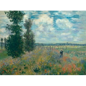 Claude Monet - Poppy Fields near Argenteuil