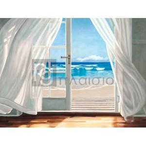 Pierre Benson - Window by the Sea