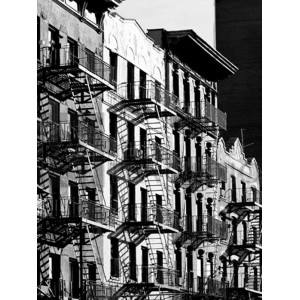 Julian Lauren - Fire Escapes in Manhattan, NYC