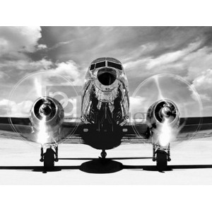 Gasoline Images - Airplaine taking off