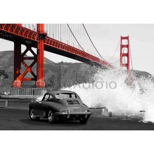 Gasoline Images - Under the Golden Gate Bridge, San Francisco (BW)