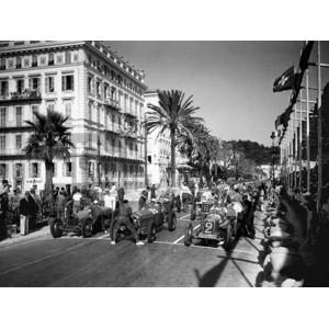 Delius - Depart du Grand Prix automobile de Nice 1934