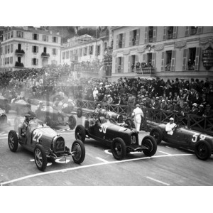 Delius - Le depart du Grand Prix de Monaco 1932