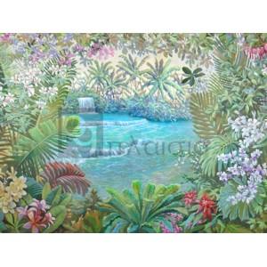 Andrea Del Missier - Cascata tropicale (detail)