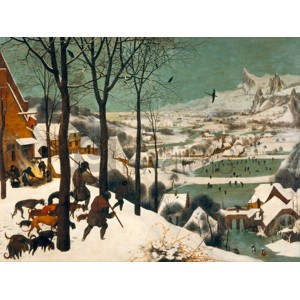 Pieter Bruegel The Elder - Hunters in the Snow (Winter)