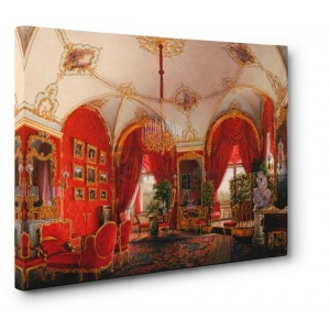 Edward Petrovich Hau - Interiors of the Winter Palace: the Fourth Reserved Apartment