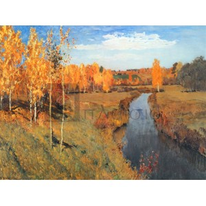 Isaac Levitan - Golden Autumn