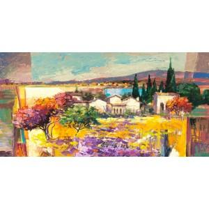 LUIGI FLORIO - Estate mediterranea (detail)