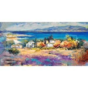 LUIGI FLORIO - Costa mediterranea (detail)
