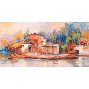 Luigi Florio - Case sul lago
