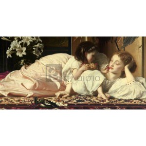 Frederic Leighton - Mother and Child