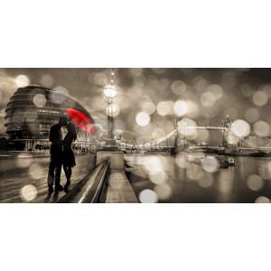 Dianne Loumer - Kissing in London (BW)