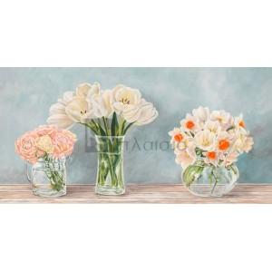 Remy Dellal - Fleurs et Vases Aquamarine