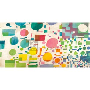 Leonardo Bacci - Multicolor Pattern I