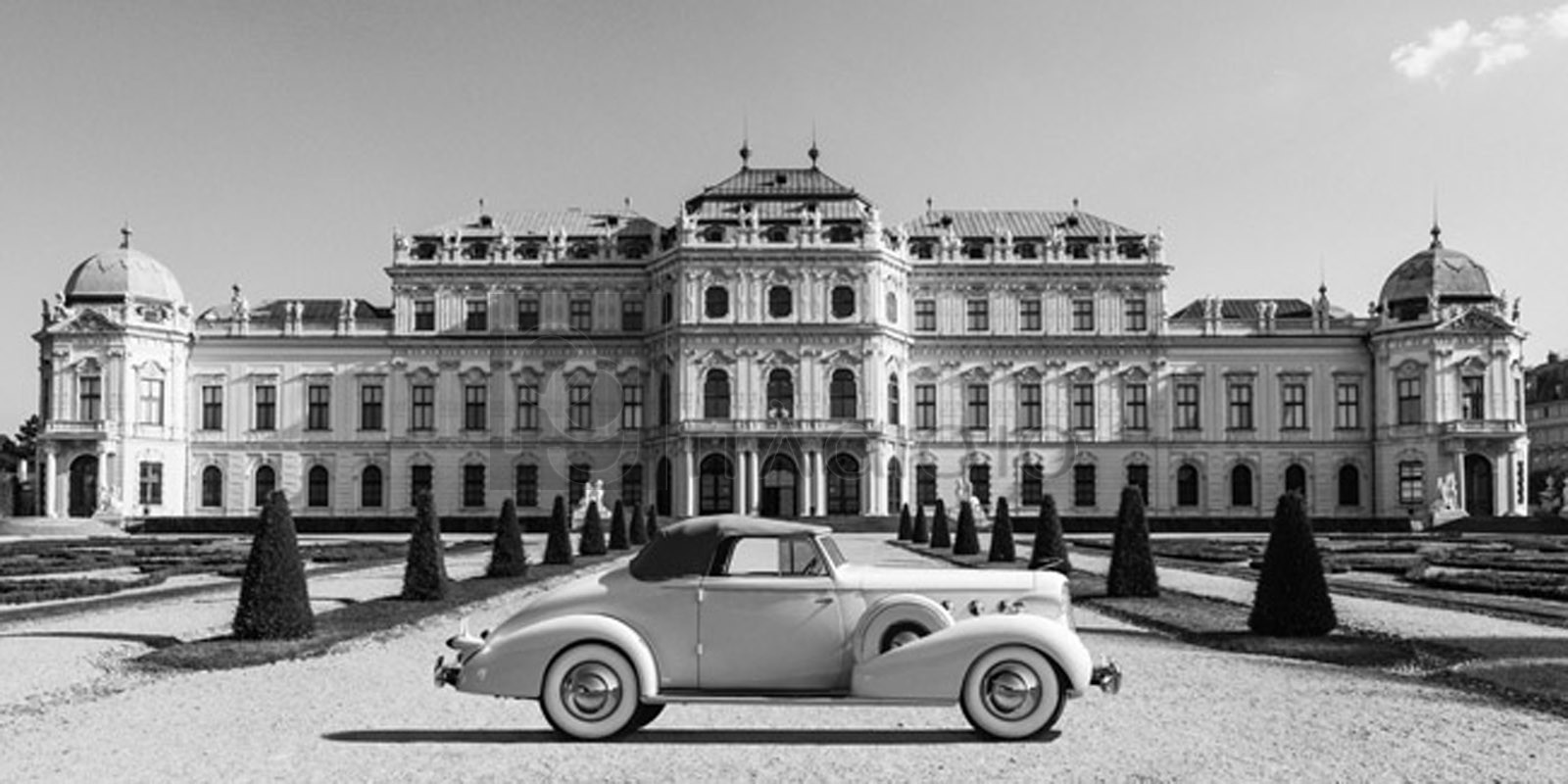 Gasoline Images - At Belvedere Palace, Vienna