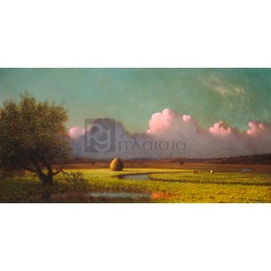Martin Johnson Heade - Sunlight and Shadow: The Newbury Marshes